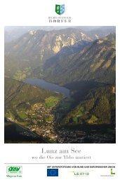Zur Bergsteigerdorf-Broschüre - Lunz am See