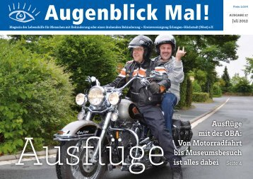 Ausflüge mit der OBA - Lebenshilfe Erlangen-Höchstadt
