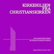DET KIRKELIGE... - Christianskirken