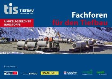 Fachforen für den Tiefbau - Birco