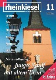 Niederdollendorf - Rheinkiesel