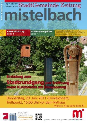 Gemeindezeitung 2011/4 - Mistelbach