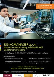 23. September 2009 - Risiko-Manager.com