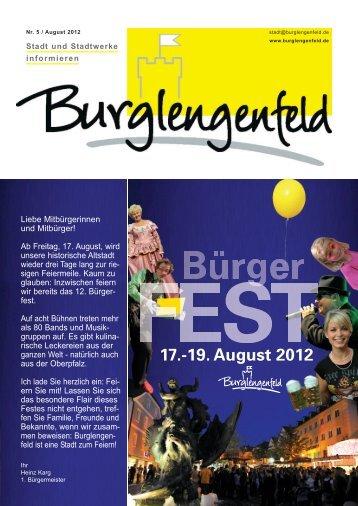 Infoblatt 2012/Ausgabe 5 - Burglengenfeld
