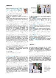 sommerfest im Dr. von Haunerschen Kinderspital - Hauner Journal