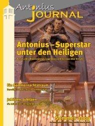 Antonius – Superstar unter den Heiligen - Pfarrei St. Anton ...