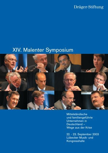 Konferenzbericht (PDF) - Dräger-Stiftung