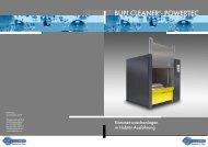 BUPI CLEANER®- POWERTEC - MAP PAMMINGER GmbH
