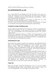 VDA 19 trennt die Spreu vom Weizen: - MAP PAMMINGER GmbH