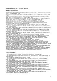 OBOROVA BIBLIOGRAFIE VCPD 1999-2010 - Výzkumné centrum ...