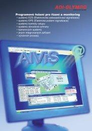 Katalogový list AlViS - ADI Global Distribution