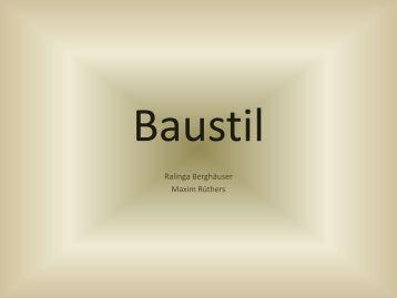 Baustile magazine for Klassischer baustil