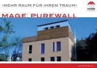 MAGE® PUREWALL - MAGE Herzberg GmbH