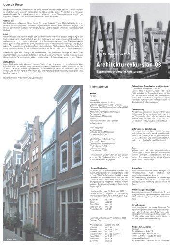 Architekturexkursion 03 - frauenplanenbauen
