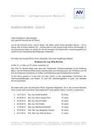 PROFESSOR DIPL - Architekten- und Ingenieur Verein Mainz eV