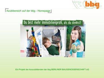Folie 1 - Berliner Baugenossenschaft eG