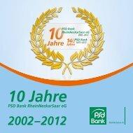 Drei Regionen - PSD Bank RheinNeckarSaar eG
