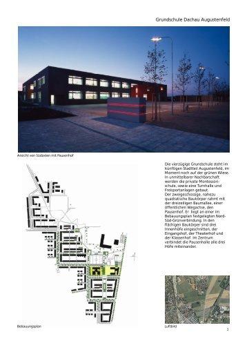 Architekt Dachau augustenfeld magazine