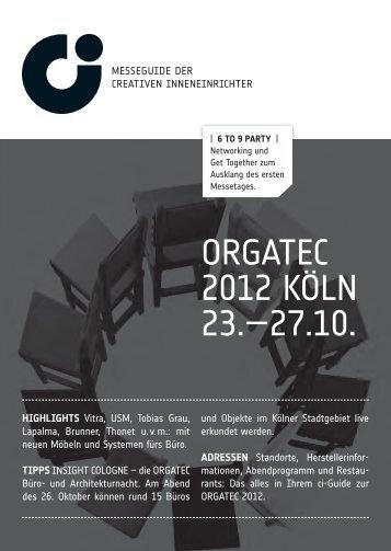 Orgatec 2012 Oka Buromobel
