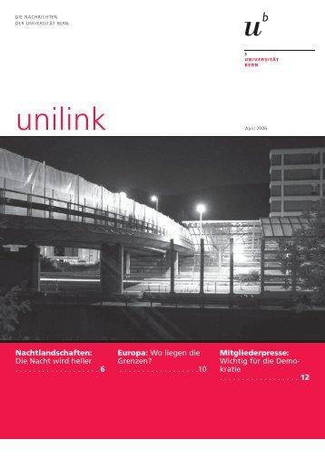 unilink April herunterladen (pdf, 845KB) - Abteilung Kommunikation ...