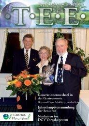 Generationenwechsel in der Gastronomie ... - Golfclub Pforzheim