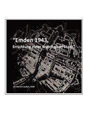 Emden 1943, Errichtung einer wehrhaften Stadt