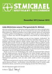 Dezember 2011/Januar 2012 - Katholische Kirchengemeinde St ...