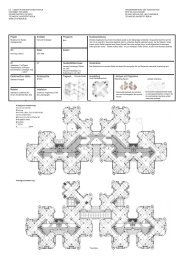 Projekt Ort Daten Architekt Programm Kosten ... - LIA - TU Berlin