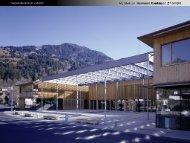 Gemeindezentrum Ludesch - Entwerfen und Energieeffizientes Bauen