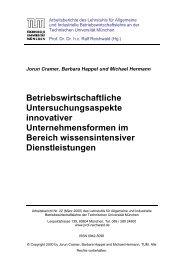 Die Architekten- und Haustechnikerumfrage - Lehrstuhl für ...