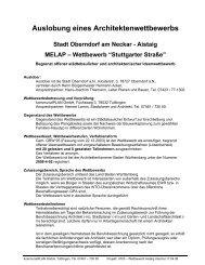 Aistaig MELAP – Wettbewerb - Oberndorf am Neckar