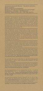 Holzarchitektur Flyer - Fachgebiet Holzbau - Seite 2