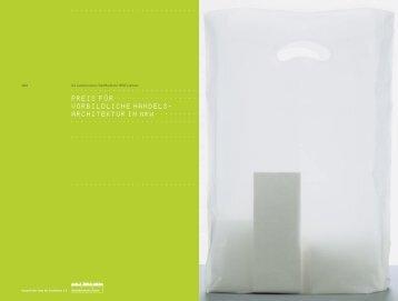titel pdf - Landesinitiative StadtBauKultur NRW