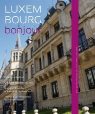 Quality – Punctuality – Comfort - Luxembourg City Tourist Office