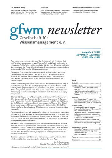 Interview - GfWM
