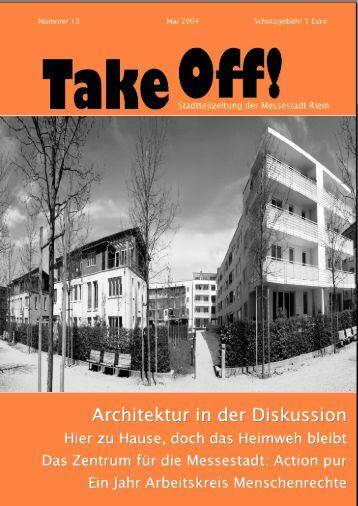 TakeOff 13 - Kulturzentrum Messestadt