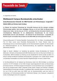 Wettbewerb Campus Bundesstraße entschieden - Uni baut Zukunft ...