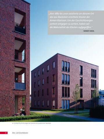 ambiente mit lokalkolorit - Wittmunder Klinker