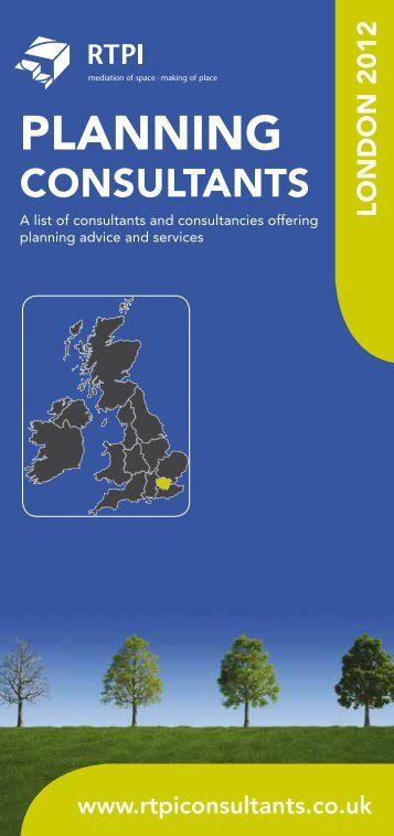 London - Planning Consultants Online Directory