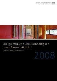 Energieeffizienz und Nachhaltigkeit durch Bauen mit Holz - TES ...