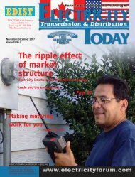in this issue - Electricity Today Magazine