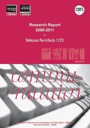 Télécom ParisTech / LTCI - Sites personnels de TELECOM ...
