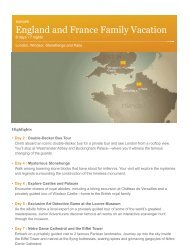 England and France Family Vacation - Adventures by Disney