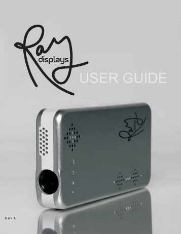 download user guide - Ray Displays
