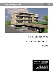 pilatusweg 5 - Cerutti Partner Architekten AG