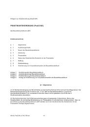 Praktikumsordnung - Fachhochschule Erfurt