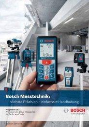 Bosch Messtechnik: