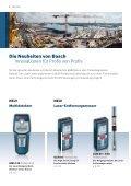 Bosch Messtechnik: - Seite 6