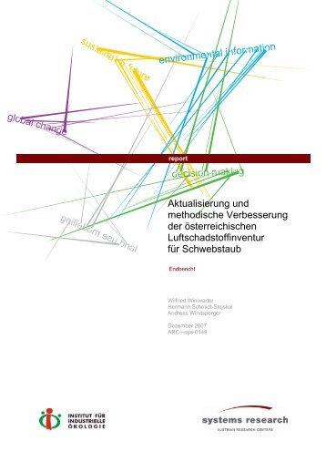 Bericht_downloaden - Institut für Industrielle Ökologie