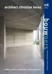 b o u w pers 06 - Technische Universiteit Eindhoven